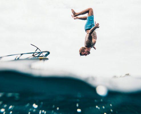 salto van boord sloep