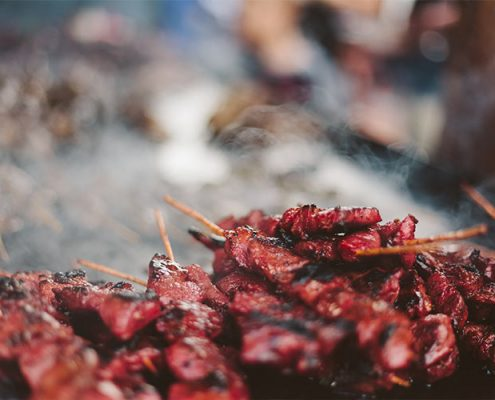 sate BBQ